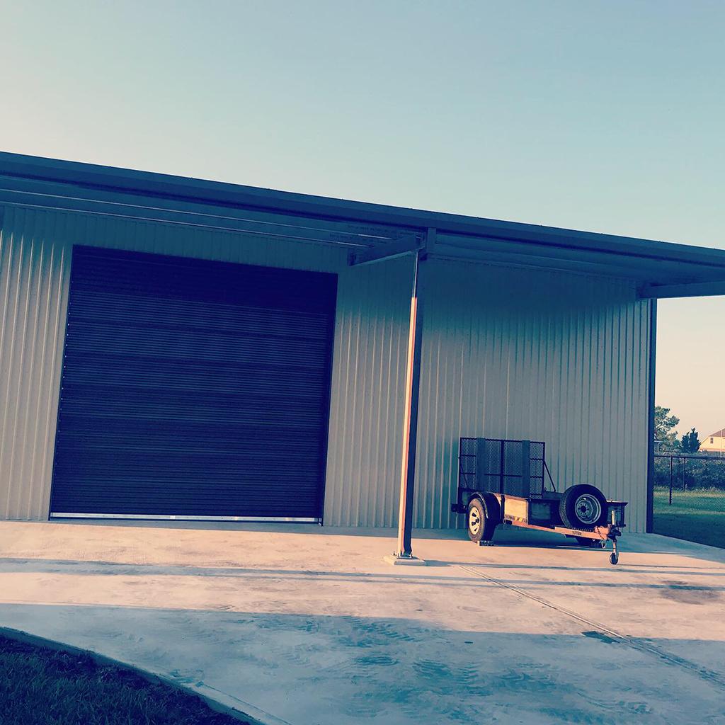 Metal Buildings With Overhang Baytown TX